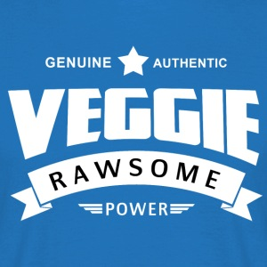 Veggie Rawsome Power - T-shirt Homme