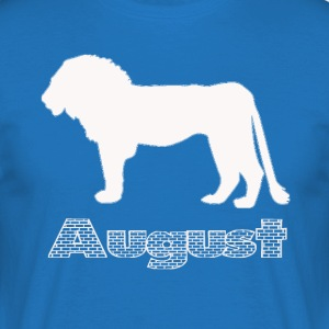 august - Herre-T-shirt