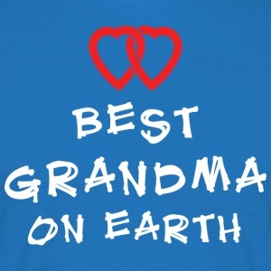 Beste Oma On Earth - Mannen T-shirt