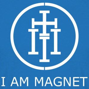 I AM MAGNET - Mannen T-shirt