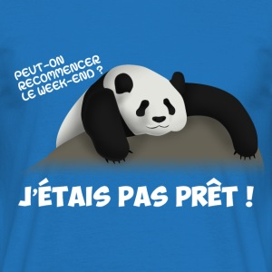 Peut-on recommencer le Week end ? - T-shirt Homme