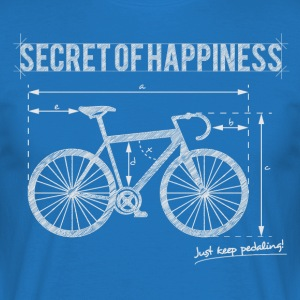 Secret of Happiness - Men's T-Shirt