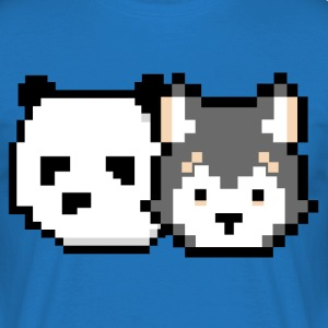 Panda & Wolifee - Men's T-Shirt