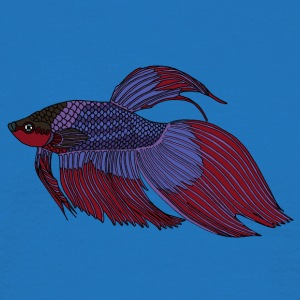 fishcoloured - T-skjorte for menn