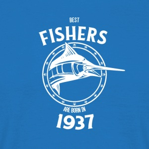 Present for fishers born in 1937 - Men's T-Shirt