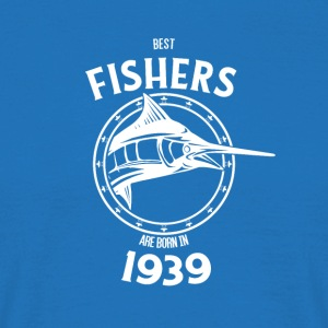 Present for fishers born in 1939 - Men's T-Shirt