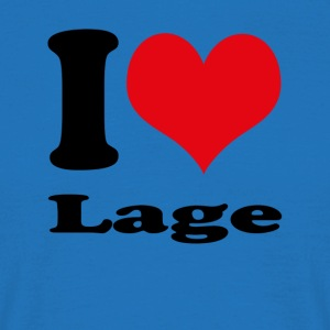 I love Localisation - T-shirt Homme
