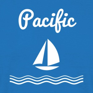 Pacific Sailing - Herre-T-shirt