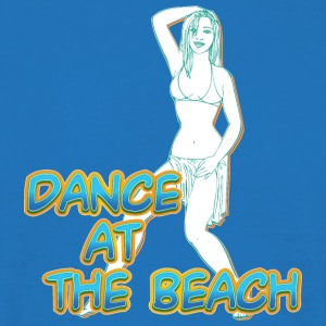 dance at the beach - Men's T-Shirt