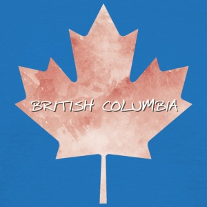 British Columbia Maple Leaf - T-skjorte for menn