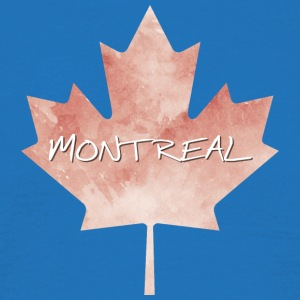 Maple Leaf Montreal - Men's T-Shirt