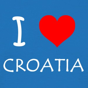 I Love Croatia - Herre-T-shirt