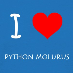 I Love Python Molurus - Men's T-Shirt