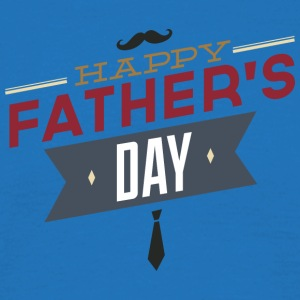 happy father s day - Men's T-Shirt