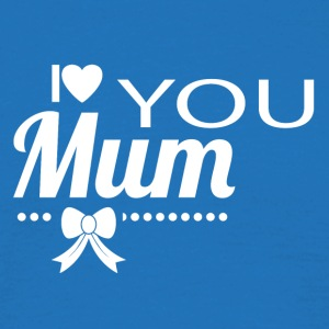 i love you mom white - Men's T-Shirt