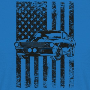 American Flag - T-skjorte for menn