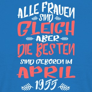 April 1955 - Männer T-Shirt