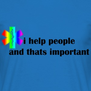 i help people - Mannen T-shirt