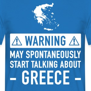 Funny Gift Idea Greece - Men's T-Shirt
