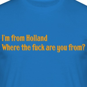 Hollande - T-shirt Homme