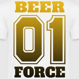 Beer Force 01 - Partyteam N1 - Mannen T-shirt