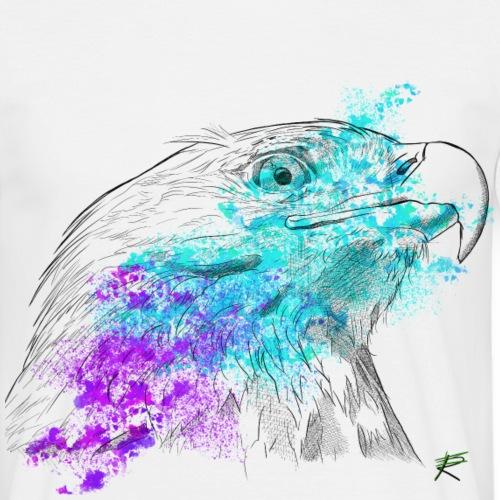 Aquila color - Maglietta da uomo