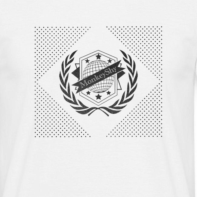 MonkeyShy logo football noir paillettes