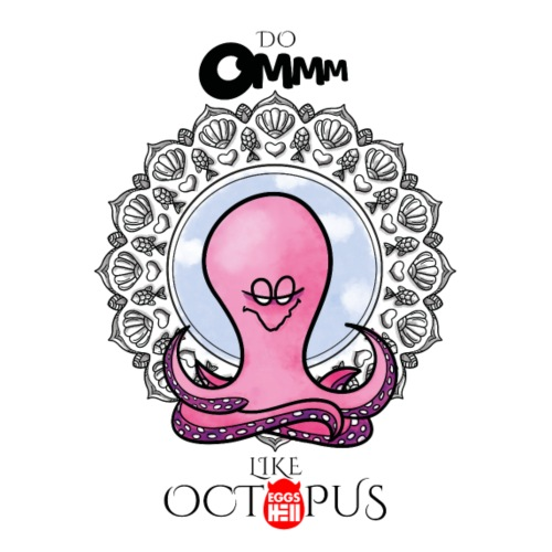 octopus meditation - Men's T-Shirt