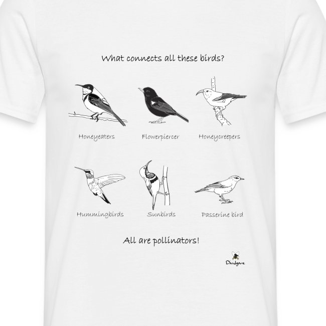 Birds pollinators!
