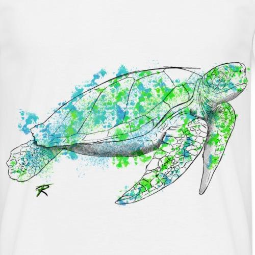 Sea turtle color - Maglietta da uomo