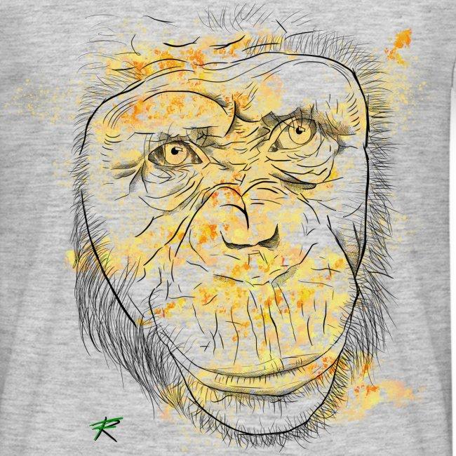 Scimpanzè color