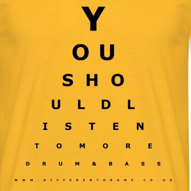 Drum & Bass Eye Test