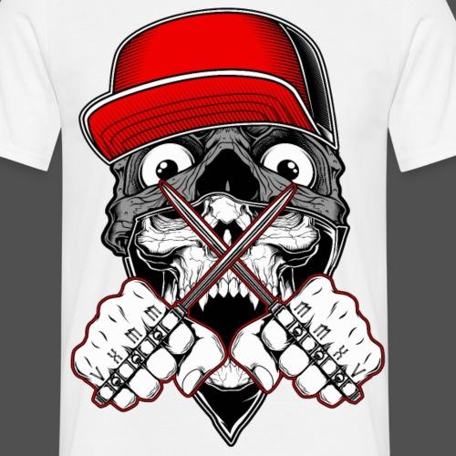 Mafiia Skull - Männer T-Shirt