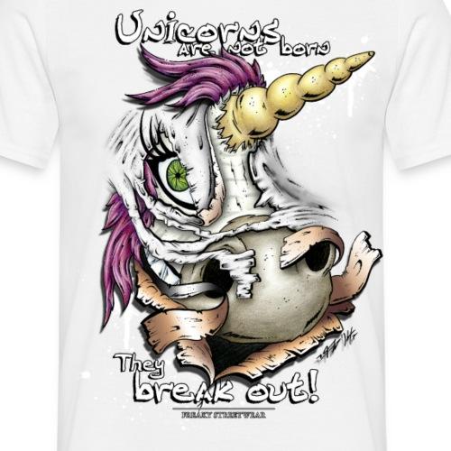 unicorn breakout - Männer T-Shirt