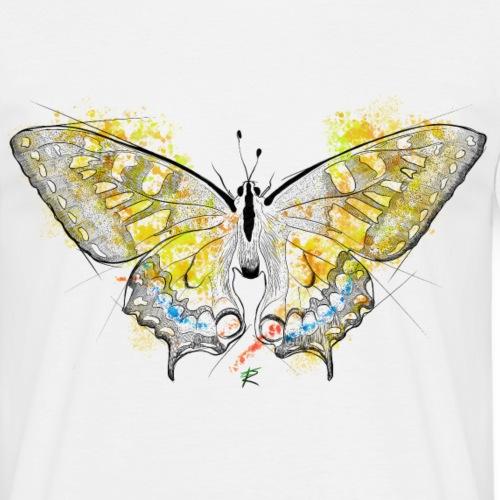 Butterfly color - Maglietta da uomo