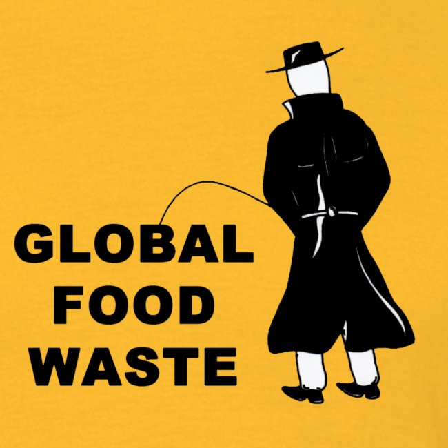 Pissing Man against Global Food Waste