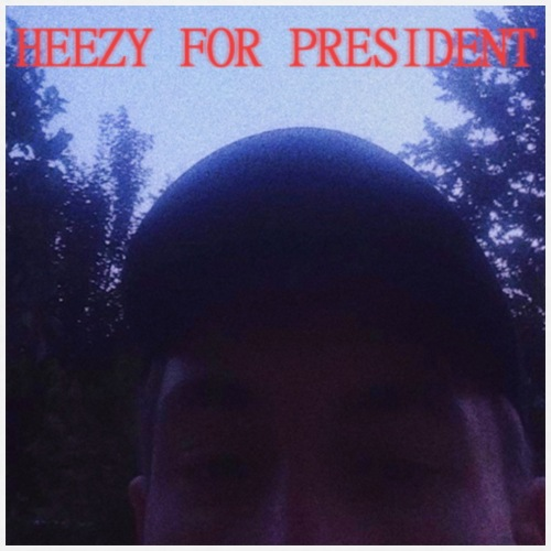 heezy for president - Mannen T-shirt