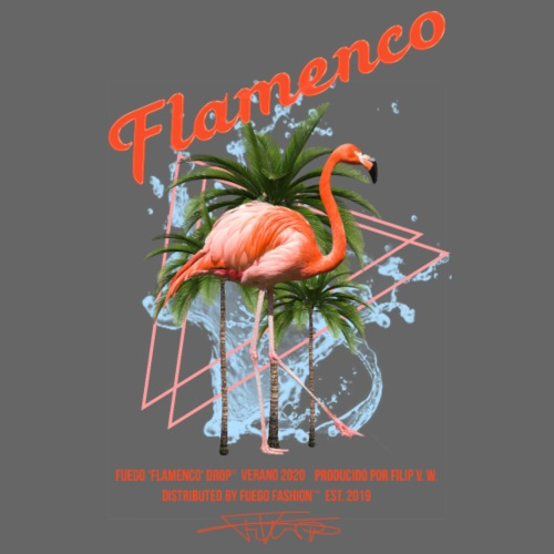 FUEGO FLAMENCO - Männer T-Shirt