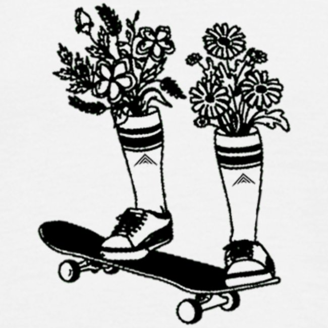 Skate Arrow Flowers