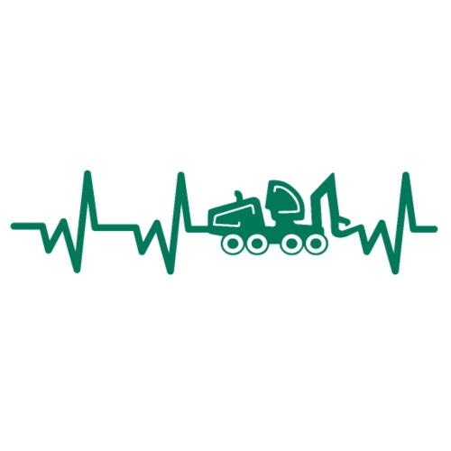 Forst | Herzschlag - Männer T-Shirt