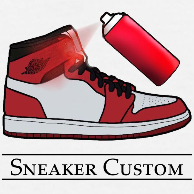 Sneaker Custom Merch /black text