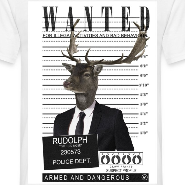Rudolph wanted