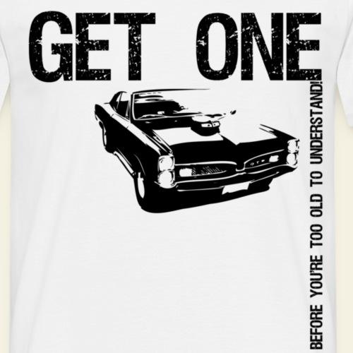 Pontiac GTO - Herre-T-shirt