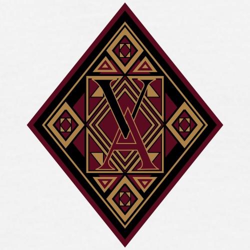 Losange royal rouge