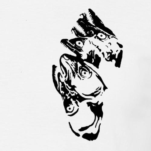 Tørka torskehau - T-skjorte for menn