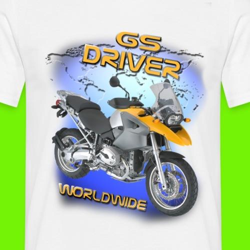 GS Fahrer - Männer T-Shirt