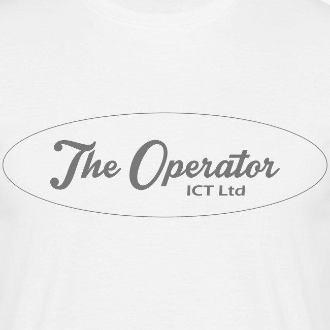 The Operator Logo Black