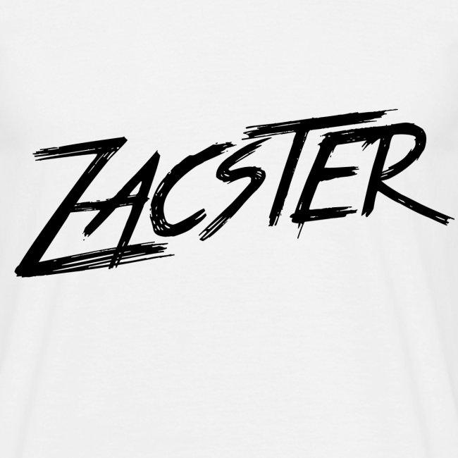 Zacster Apparel Black Scratchy Design png