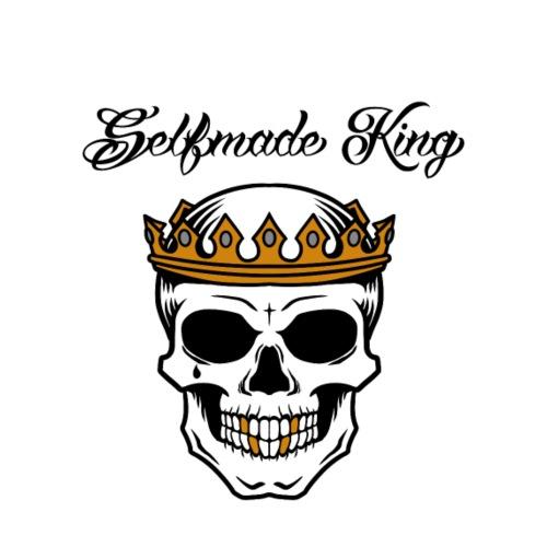 Selfmade King - Männer T-Shirt