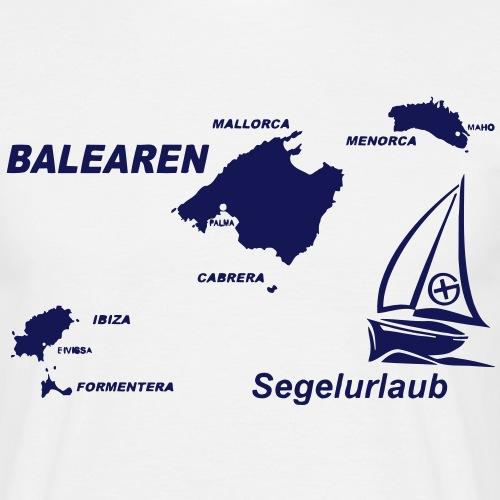 balearen mallorca menorca ibiza shirt - Männer T-Shirt